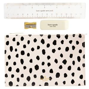 Kate Spade Pencil Case NWT with Accessories